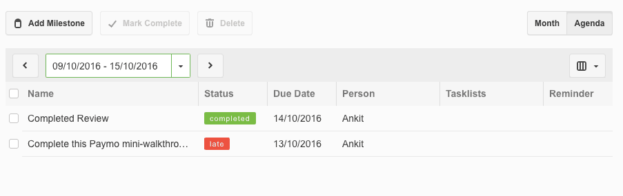 Paymo Task Status - Project Management Software