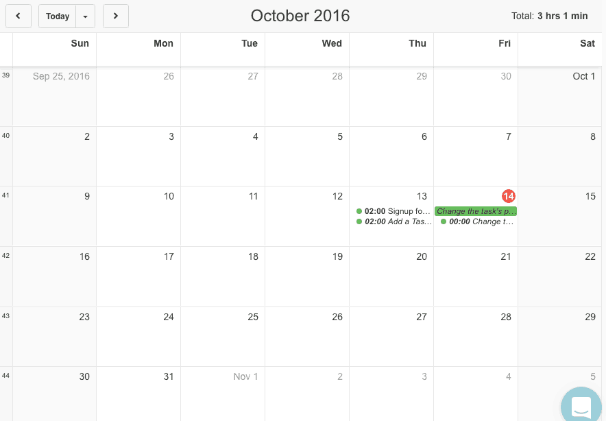Paymo: Monthly Calendar - Project Management Software